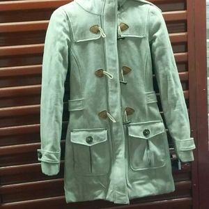 🔥💲 Warm winter wool coat with hood XS